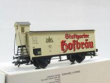 Märklin H0 34957 Bierwagen m. Brhs Stuttgarter Hofbräu K.W.St.E. OVP (Q4205)