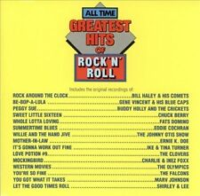 All-Time Greatest Hits of Rock & Roll, Vol. 1 by Various Artists (CD, Dec-)