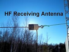 Shortwave, SWL, AM, OC, HAM, Broadcast band, End Fed longwire antenna, 50 foot