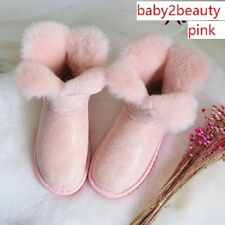 Bloom Flower Australia Sheep Fur/Skin Women's Shoes/Ankle Boots Better Than UGG