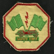 Vintage Race Communications Association SAFETY FIRST Racing Collectors Patch