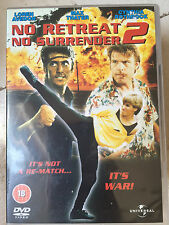 Cynthia Rothrock NO RETREAT NO SURRENDER 2 - 1986 Martial Arts Film | UK DVD