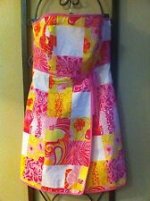 Gorgeous Floral Patchwork LILLY PULITZER Dress RARE NWOT Size 6 ��