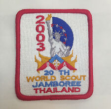 20TH World Scout Jamboree AMERICAN BSA CONTINGENT BADGE 2003