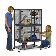 Living Room Series 4 Level Ferret Cage Large Chinchilla Rat Rabbit Indoor Hutch