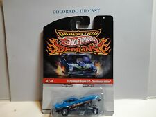 "Hot Wheels Drag Strip Demons Blue '77 Plymouth Arrow F/C ""Northwest Hitter"""