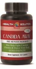 CANDIDA AWAY Cleanse&Detox Your Body Combats Fungal Infection Chronic Fatigue1B