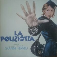 Gianni Ferrio La Poliziotta Four Flies LP Vinyl 1974 Italian soundtrack