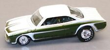 Hot Wheels Garage pearl white & green Corvair Vairy 8 Real Riders loose 1:64