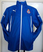 ESPANYOL RCD BLUE RAIN JACKET  BY PUMA ADULTS SIZE MEDIUM BRAND NEW WITH TAGS