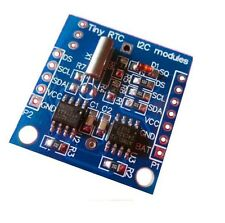 5PCS I2C RTC DS1307 AT24C32 Real Time Clock with LIR2032 battery Rechargeable