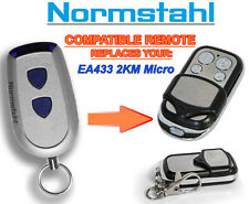 Normstahl EA433 2KM Micro compatible remote control. 433,92Mhz Rolling code