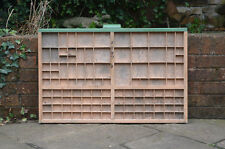 Vintage old wooden printers draw drawer / tray 83 x 53 cm - FREE POSTAGE