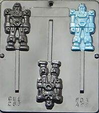 Transformer Lollipop Chocolate Candy Mold  288 NEW