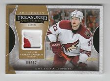 (58712) 2015-16 UD ARTIFACTS TREASURED SWATCHES O. EKMAN-LARSSON PATCH (09/12)