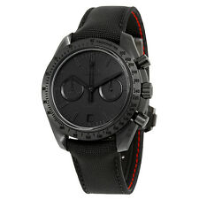 "Omega Speedmaster Moonwatch Dark Side of the Moon ""Black Black"" Chronograph"