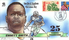 Bevil HP DALLAS COWBOYS EMMITT SMITH 25 RUSHING TOUCHDOWNS Sc 1382
