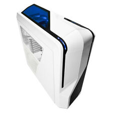 NZXT PHANTOM 410 WHITE ATX GAMING USB 3 PC CASE WITH SIDE WINDOW & COOLING FANS