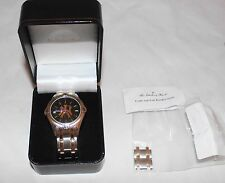 The Danbury Mint New York Yankees Mens Watch w/ 14K Gold Inlay Hard to Find
