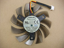 75mm GIGABYTE N465  VGA Fan Replacement 40mm GTX 460 560Ti T128010SM 3Pin 0.20A