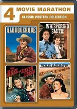 4 Movie Marathon: Classic Western Collection NEW!