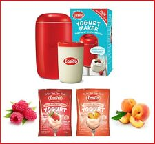 EasiYo Yogurt Maker & 2 '& Cream' Gourmet Yogurts