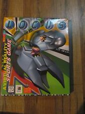 LOCUS GAME PC SOFTWARE CD ROM WINDOWS DISC COMPLETE SEALED NEW NIB SPORTS GAME
