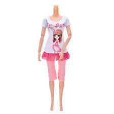2017 Beautiful DollSuit Handmade Party Clothes For Barbie Noble Doll Best GiftH