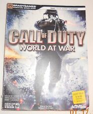 Call of Duty : World at War by Activision Staff and BradyGames Staff (2008, Pape
