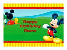 MICKEY MOUSE A4 REAL KOPYKAKE EDIBLE ICING IMAGE BIRTHDAY CAKE TOPPER