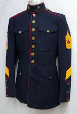 USMC US MARINE CORPS KOREAN WAR VINTAGE MASTER SERGEANT UNIFORM