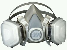 3M 7192 (07192) Dual Cartridge Respirator Mask Assembly Organic Vapor/P95 Medium