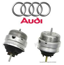 NEW Audi A4 Quattro 2.0L L4 Pair Set of Left and Right Engine Mounts Genuine