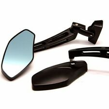 Motorcycles CNC 7/8'' 22MM Rearview Side Mirrors For Kawasaki Z1000 Z750 Chopper