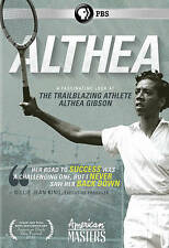 American Masters: Althea (DVD, 2015)