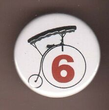 PATRICK McGOOHAN THE PRISONER NUMBER 6 BADGE BUTTON PIN SIX PORTMERION