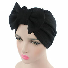 Women Lady Bow Bonnet Chemo Hijab Turban Cap Beanie Hat Head Scarf Wrap