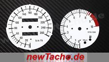BMW R1100S voll Kunststoff Tachoscheiben Tacho R 1100 S Gauge dial plates