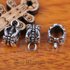 10pcs Charms Tibet Silver Connector Bails Fit Pandent DIY Jewery Making A7292