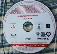 PS3 Game The Beatles Rock Band promo Rare. Own a piece of History. Only one here