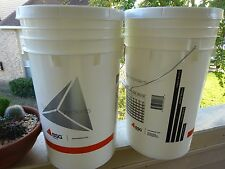 2 PACK 7.8 Gal Fermention Bucket + Lids Airlock for Beer Brewing Homebrew Wine