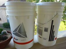 2 PACK 6.5 Gal Fermention Bucket + Lids Airlock for Beer Brewing Homebrew Wine