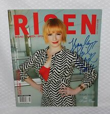 Signed Sixpence's Leigh Nash 2006 Risen Magazine Hand Autographed