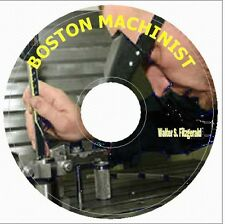 BOSTON MACHINIST HOW TO MAKE AND USE EVERY TOOL SCREW- AND GEAR CUTTING on CD