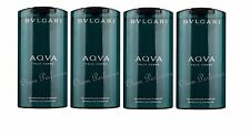Bvlgari Aqva (Aqua) Pour Homme Shampoo Shower Gel Pack 27.2oz 800ml (6.8 x 4)
