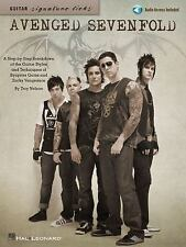 Avenged Sevenfold Guitar TAB A7X ~ Almost Easy, Seize the Day, Danger Line, More