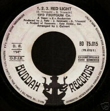 1910 FRUITGUM CO 45 TOURS PROMO ITALIE 123 RED LIGHT