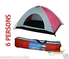 PICNIC CAMPING PORTABLE WATERPROOF TENT FOR 6 PERSON