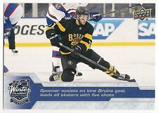 16-17 UD SERIES 1 MONTREAL VS BOSTON WINTER CLASSIC RYAN SPOONER  WC-12