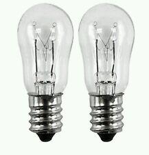 GE WE4M305 Dryer 120V 10W Incandescent Light Bulb 2 pack